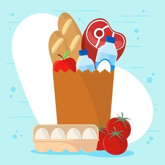 Produits alimentaires d'épicerie