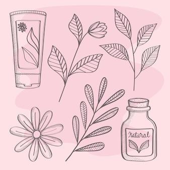 Produits de cosmétique bio