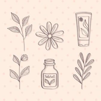 Produits de cosmétique naturelle