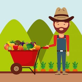 Produits fermiers frais