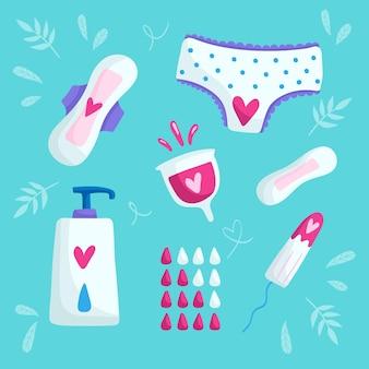 Produits d'hygiène féminine
