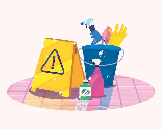 Produits de nettoyage et fournitures