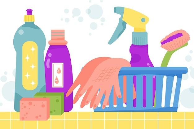 Produits de nettoyage des surfaces
