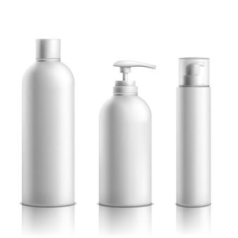 Produits de soins de la peau cosmétiques ligne de conditionnement