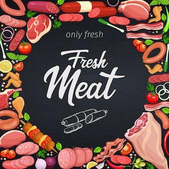 Produits de viande gastronomiques