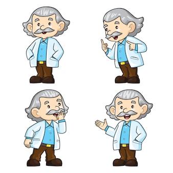 Professeur cartoon