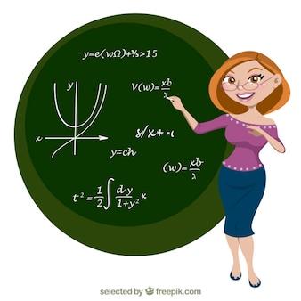 Professeur de mathématiques