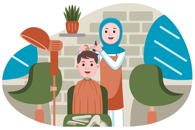 Profession de coiffeur