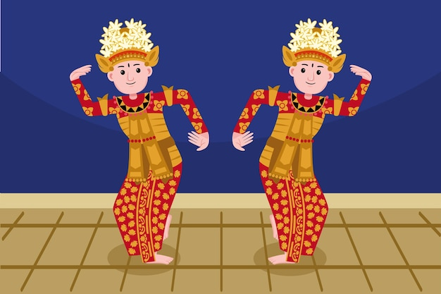 Profession de danseur traditionnel