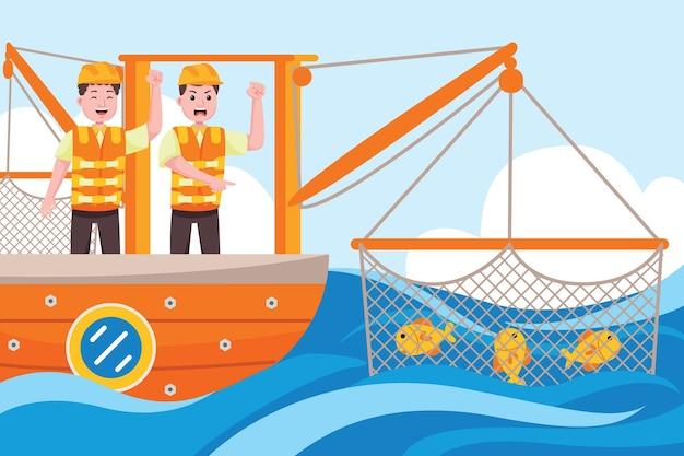 Profession de pêcheur