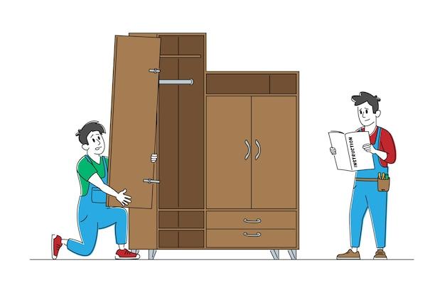 Profession et service de fabricant de meubles