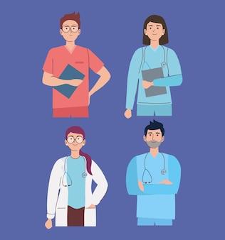 Professionnels du personnel médical