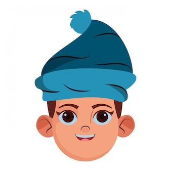 Profil d'avatar petit enfant