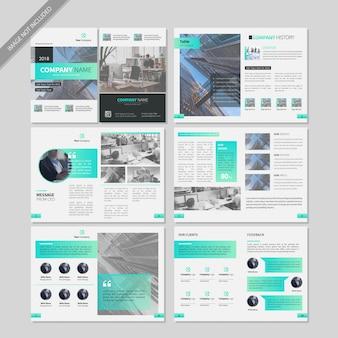 Profil de l'entreprise flyer book