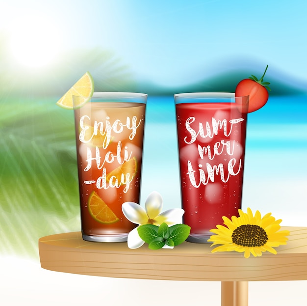 Profitez de l'heure d'été à la plage