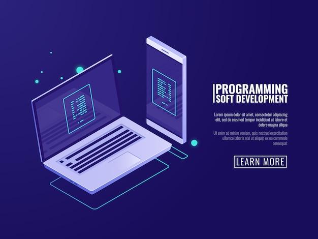 Programmation et développement de programmes informatiques, application mobile