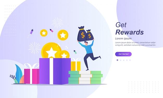 Programme de fidélisation et obtenez des récompenses
