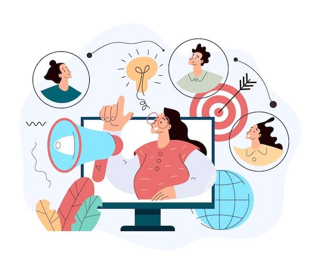 Programme de référence de communication avec le public de promotion de produits