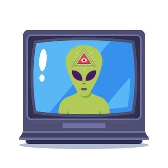 Programme télévisé sur les extraterrestres et les maçons