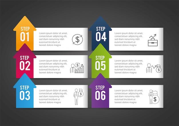 Progrès de la stratégie infographique et réussite de l'entreprise