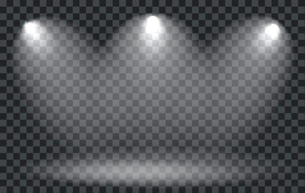 Projecteur à effet de lumière avec transparent