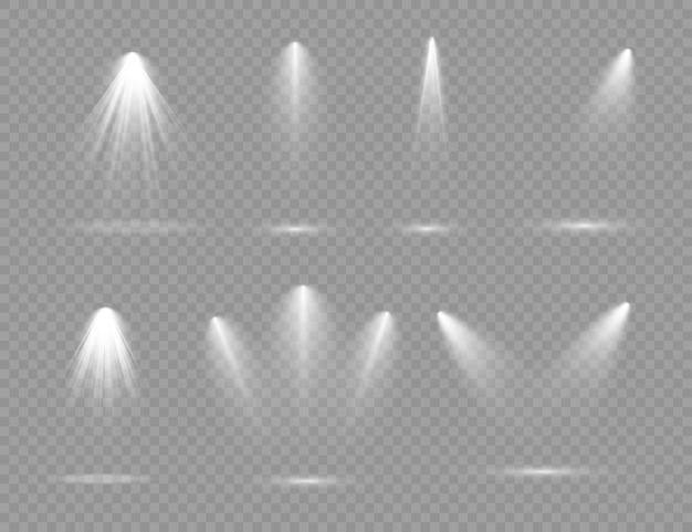 Projecteurs blancs