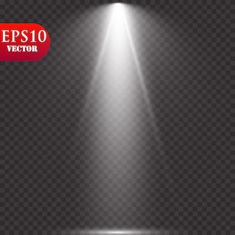 Projecteurs. scène. effets de lumière.