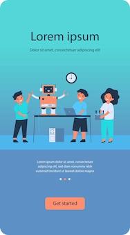 Projet de robotique scolaire
