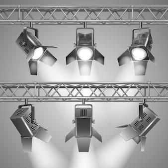 Projeter des projecteurs