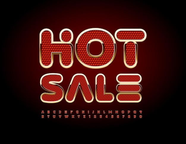 Promotion créative de vecteur vente chaude jeu de polices en couches lumineuses de lettres et de chiffres de l'alphabet isométrique