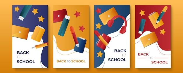 Promotion du modèle de publication sur les réseaux sociaux de la rentrée scolaire