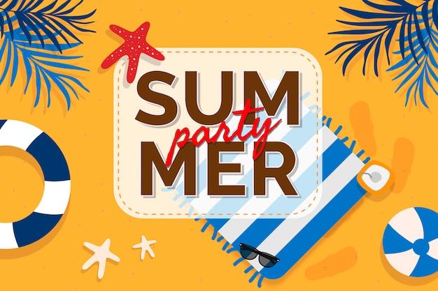 Promotion d'été tropical