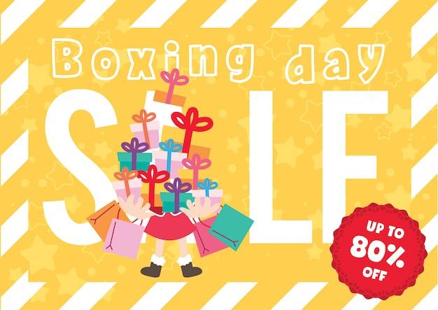 Promotion de noel boxe day sales
