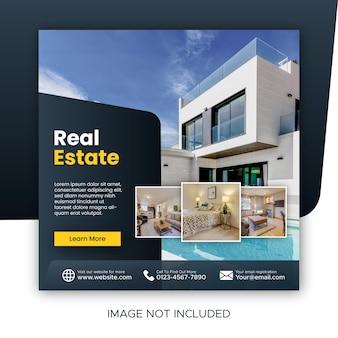 Promotion sur les réseaux sociaux de l'immobilier