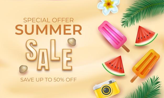 Promotion spéciale soldes d'été