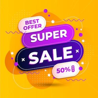 Promotion des ventes abstraites