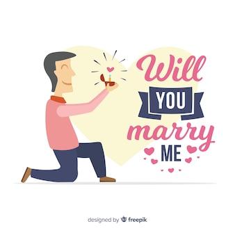 Proposition et design de l'amour