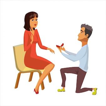 Proposition de mariage