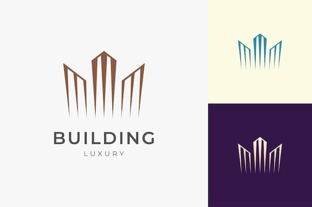 Propriété ou appartement de luxe pour l'immobilier et l'investissement