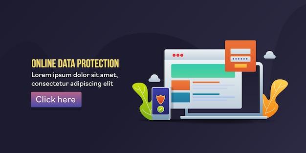 Protection des données en ligne