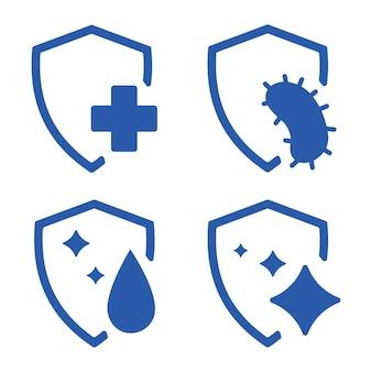 Protection immunitaire protection contre les bactéries saines contre les virus arrêter le virus protection antibactérienne ou immunitaire