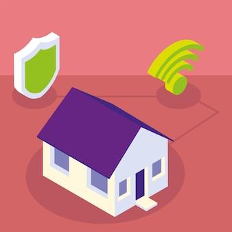 Protection de la maison intelligente