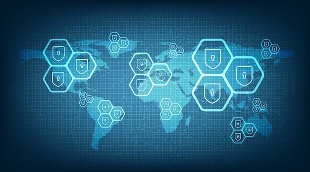 La protection numérique mondiale et la sécurité du monde