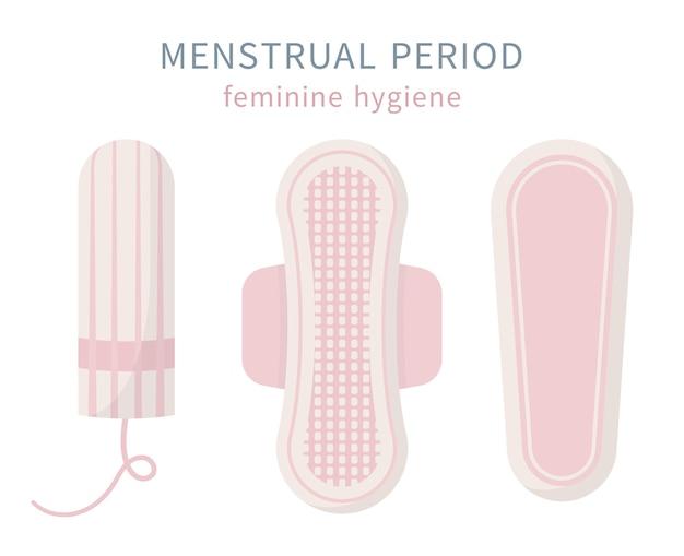 Protection des produits d'hygiène féminine