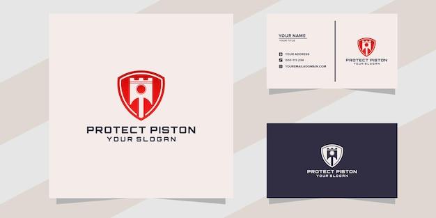 Protéger le modèle de logo de piston