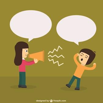 Protester avec haut-parleur