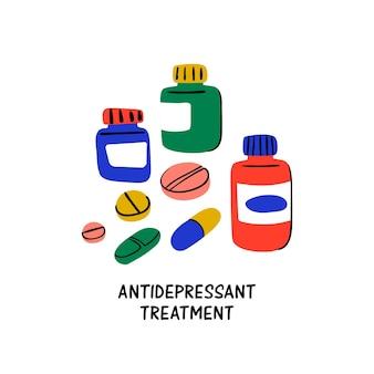 Psychologie - traitement antidépresseur