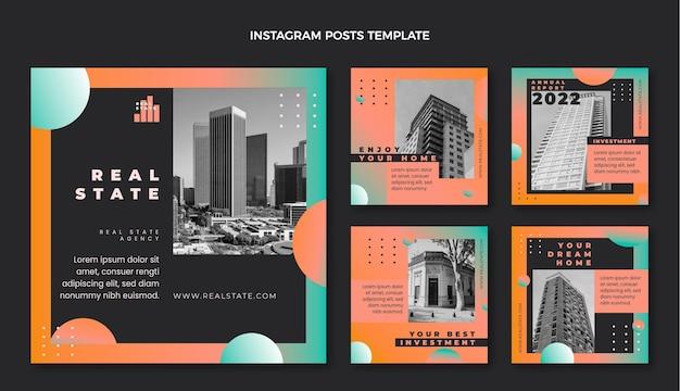 Publication instagram de l'immobilier dégradé