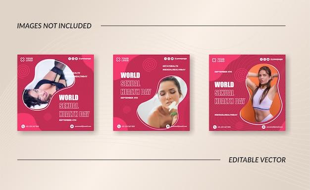 Publication instagram de la journée internationale de la santé