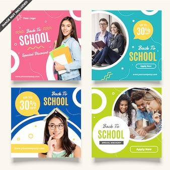 Publication sur les réseaux sociaux d'éducation
